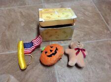 3 Rare Build A Bear Holiday Celebration Accessories W/ Box