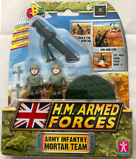 CB Character Building HM Armed Forces Toy Royal Artillery L118 Light Gun Age 5