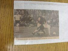 08/02/1964 Autograph(s): Birmingham City v Bolton Wanderers, Alex Harley - Hand