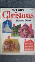 VINTAGE MCCALLS MAGAZINE Christmas 1972