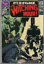 WITCHING HOUR THE #11 DC 11/70 HORROR TALES ALEX TOTH ART NEAL ADAMS COVER  FN