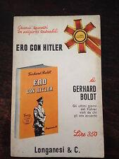 GERHARD BOLDT - ERO CON HITLER