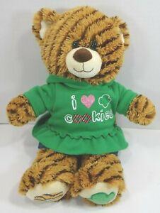 Build A Bear Girl Scouts Samoa Cookie Bear Plush With Hoodie Denim Skirt