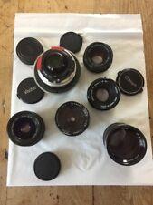 job lot camera lenses