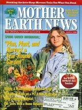 1996 Mother Earth News Magazine: Spring Garden Minimanual/Poison Ivy Herbal Reme