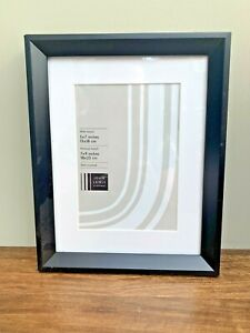 """Black John Lewis Photo Frame, Fits 5 x7"""" Picture, 13 x 18cm, Wall Mounted"""
