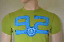 NUOVO ABERCROMBIE & FITCH Kempshall Mountain Verde #92 T-SHIRT S