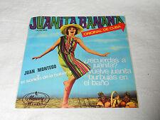 """JUAN MONTEGO Y EL SONIDO DE LA HABANA """" JUANITA BANANA """" SPAIN PS EP 1966"""