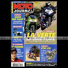 MOTO JOURNAL 1519 MOTOGP JEREZ KAWASAKI 636 ZX-6R SUZUKI GSXR 750 KTM LC8 2002