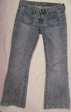 HUDSON in PRL ston acid wash veru soft light stretchy flare jeans 28