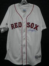 Manny Ramirez Signed Boston Red Sox MLB Authentic Majestic Jersey JSA G57940