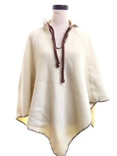 Vintage Hooded Poncho Cape