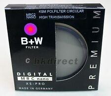 B+W 62mm XS-PRO HTC Kaesemann KSM MRC Nano CPL Circular Polarizer Filter 62 mm#