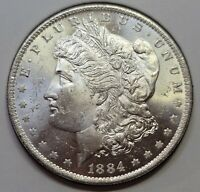 1884 O New Orleans Mint Silver Morgan Dollar UNC