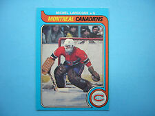 1979/80 O-PEE-CHEE NHL HOCKEY CARD #296 MICHEL LAROCQUE NM OC SHARP!! 79/80 OPC