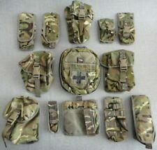 British Army MTP Osprey Webbing Pouch Full Set x 13 #195