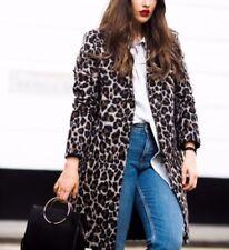 Cappotti e giacche da donna marrone con bottone automatico, taglia 44