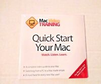 Mac Video Training Quick Start Your Mac CD-ROM Tutorial for Mac Computers