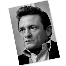 Country Singer Johnny Cash The Man In Black  4x6 Inch Magnet