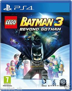 LEGO Batman 3 Beyond Gotham PS4 - Kids Game for Sony Playstation 4 NEW SEALED