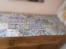 Exclusive Moroccan Hand cut Mosaic zelige style tiles x30 zellige floor or wall