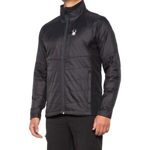 Men's Spyder Glissade Primaloft Hybrid Insulated Jacket Black XXL