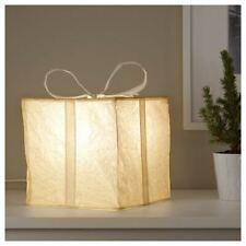 Caja de Ikea Strala Papel Navidad presente Lámpara 21cm Red Alimentado 703.330.86 Nuevo