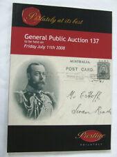 Prestige Stamp Auction Catalogue 2008- General Public Auction 137