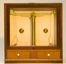 English Portable Assay Button Balance by L. Oertling