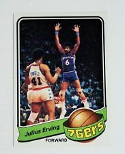 1979 - 1980 Topps Basketball Cards (Includes Dr. J), partial set of 23 cards