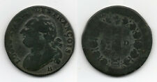 12 Deniers François 1792 B (ROUEN)