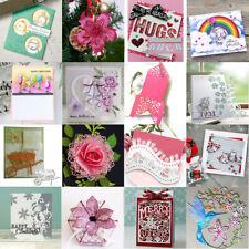 Flower Cutting Dies Metal Stencil Scrapbooking Embossing Paper Album Card Craft