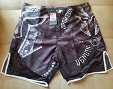 New Venum Gladiator 3.0 Mma Fight Shorts - Black/White Xl Free Shipping! 🔥🔥🔥