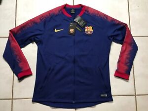 NWT NIKE FC Barcelona 2018/2019 Anthem Jacket Men's XL