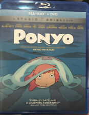 Ponyo (Blu-ray/DVD, 2017)
