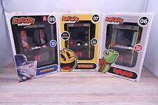 Arcade Classics Asteroids # 05, Pac-Mac # 07, Frogger # 06 Handheld Mini Arcade