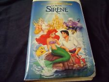 BLACK DIAMOND Disney's La Petite Sirene  THE LITTLE MERMAID  In FRENCH!!