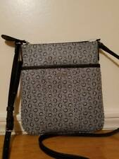 Guess G Logo Purse Cross Body Shoulder Hand Bag Black Sandhill Mini