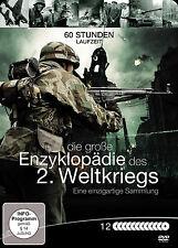 60 Stunden ENZYKLOPÄDIE DES 2. zweiten WELTKRIEG 3. Reich  12 DVD BOX Metallbox