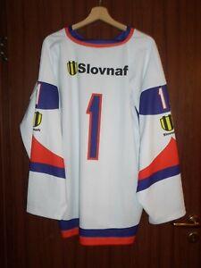 SLOVAKIA #1 ICE HOCKEY Jersey Shirt SWEATER Size XL CAMISETA TRICOT