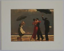 """The Singing Butler by Jack Vettriano Mounted Art Print 10"""" x 8"""" Dancers"""