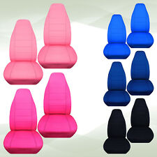 nice set  velour front car seat covers pink/yellow /blue/purple ,choose color