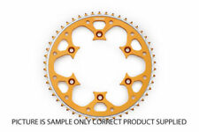 Gold Motorcycle Back Sprockets