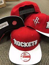 HOUSTON ROCKETS Jerze Snapback 9Fifty Original Fit New Era Adjustable CAP Hat