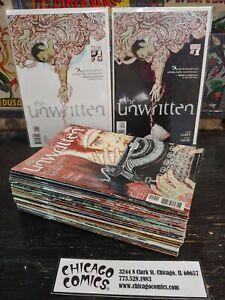 Unwritten #1-49 Missing #12 NEAR COMPLETE SET!!! Vertigo Comics 2009 FN-VF