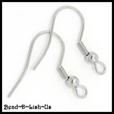 French Earring Hooks ear DIY findings 304 Stainless Steel - Choose Your Quantity