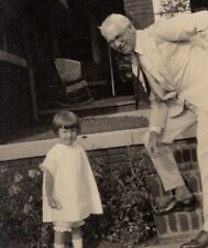 Vintage  Real Photo Beautiful Child Little Girl Where's My Chicken Colonel hmmm