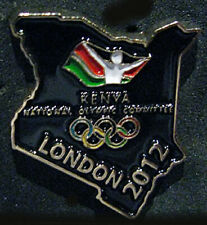 LONDON 2012 Olympic KENYA NOC Internal team - delegation DATED pin