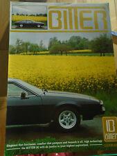 Bitter SC brochure c1981 English text
