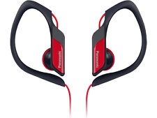 Red Panasonic Rphs3 Water and Sweat Resistant Sports Headphones